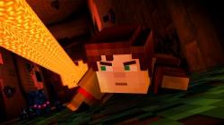 Minecraft: Story Mode: Screenshot März 16