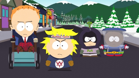 South Park: The Fractured but Whole: Screenshot zum Titel.