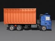 Müllabfuhr Simulator 2011: Screen zum Spiel.