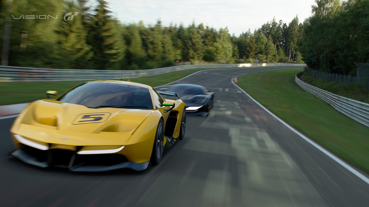 Gran Turismo Sport: Fittipaldi EF7 Vision Gran Turismo