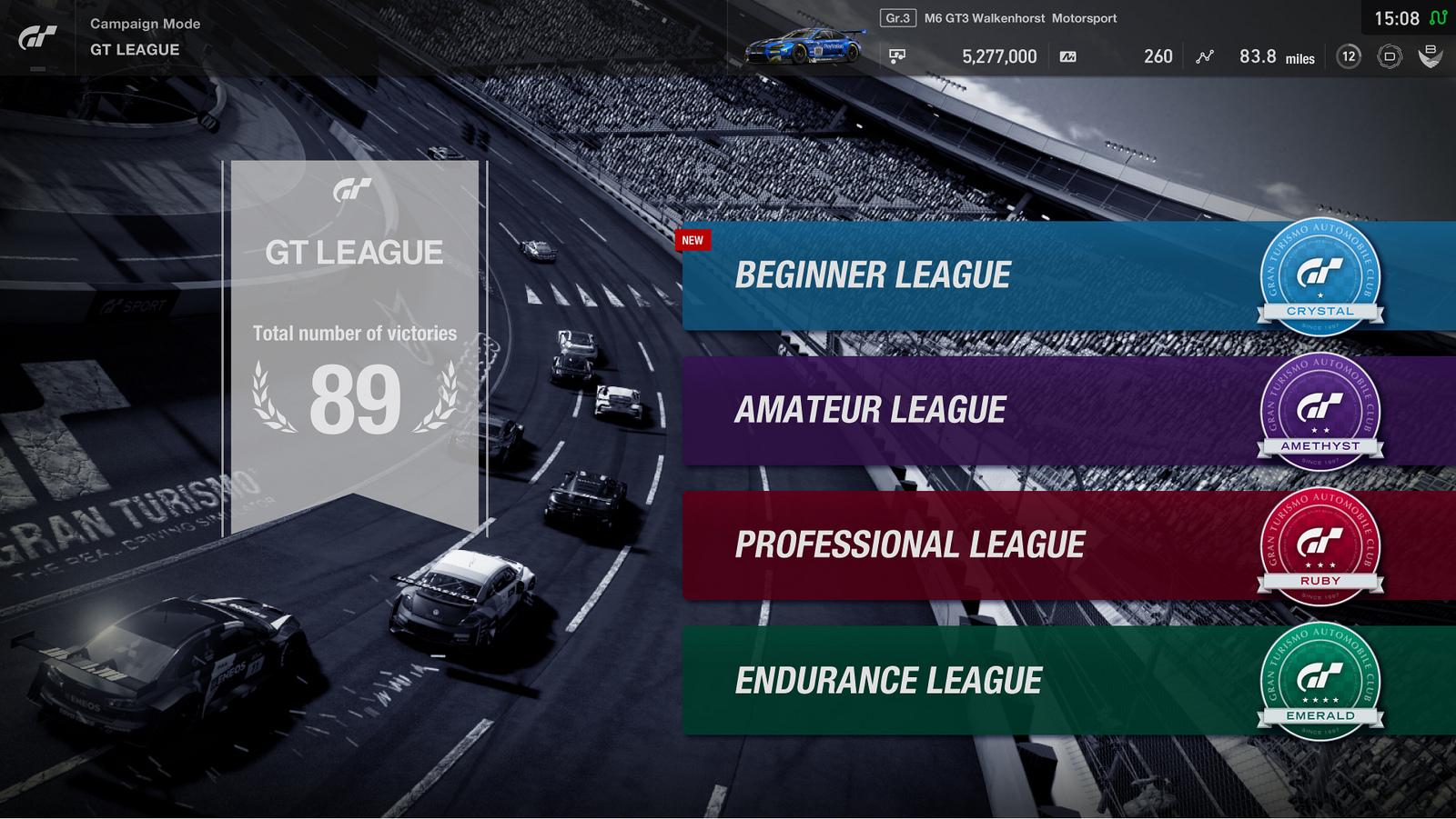 Gran Turismo Sport: Coming Updates November, Dezember bis März 2018