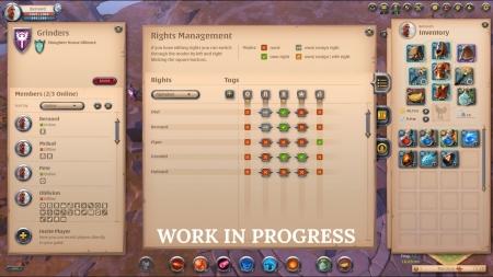 Albion Online: Guild UI Improvements