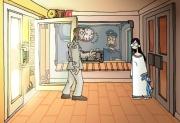 Edna bricht aus: Screen zum Spiel.