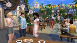 Die Sims 4: Zeit für Freunde: Screenshots Dezember 15