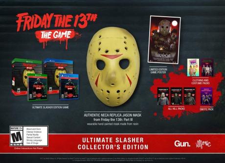 Friday the 13th: The Game - Ultimate Slasher Collector's Edition für den US Markt angekündigt