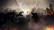 Typoman: Screen zum Spiel.