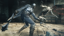 Dark Souls III: Screenshot zum Titel.