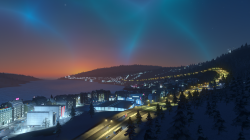 Cities: Skylines Snowfall: Screen zum Spiel.
