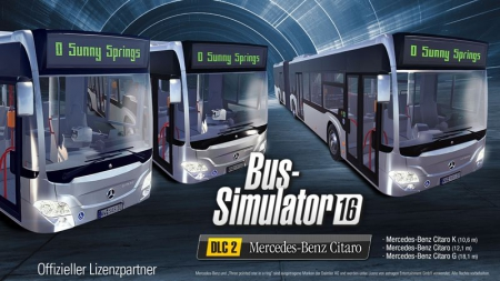 Bus Simulator 16: Mercedes-Benz Citaro DLC