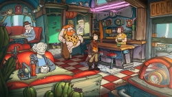 Deponia Doomsday: Screenshot zum Titel.