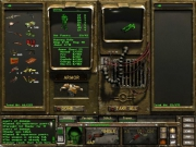 Fallout Tactics: Brotherhood of Steel: Screen zum post-apokalyptischen Strategie Titel.