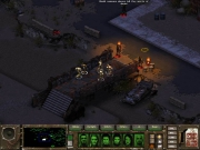 Fallout Tactics: Brotherhood of Steel: Screen zum post-apokalyptischen Strategie Titel.