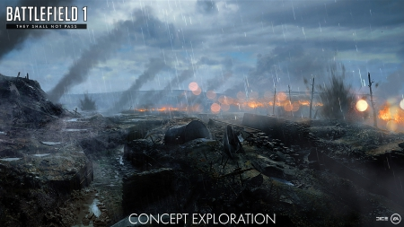 Battlefield 1: They Shall Not Pass - Konzeptbilder