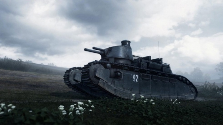Battlefield 1: They Shall Not Pass - Char 2C-Panzer