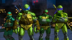 Teenage Mutant Ninja Turtles: Mutants in Manhattan: Screen zum Titel.