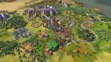 Civilization 6: Screenshot zum Titel.