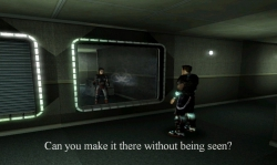 Insincere: Screenshot zum Titel.