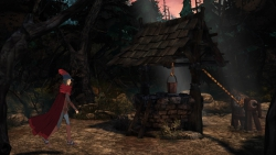 King's Quest: Screenshot zum Titel.
