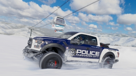 Forza Horizon 3: Blizzard Mountain DLC