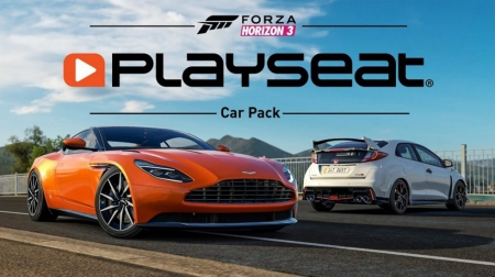 Forza Horizon 3 - DLC Playseat Car Pack erscheint Morgen