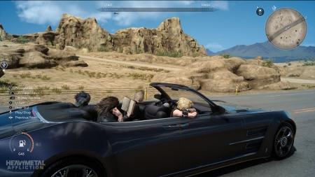 Forza Horizon 3 - Der Regalia aus Final Fantasy XV wird ins Spiel implantiert