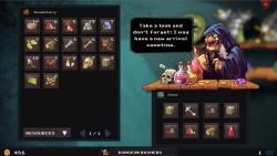 Dungeon Rushers: Screenshot zum Titel.