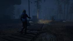 Through the Woods: Screen zum Horror Adventure.