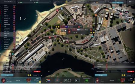 Motorsport Manager: 2D-Modus