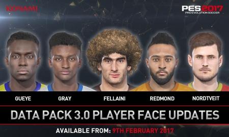 Pro Evolution Soccer 2017: Data Pack 3
