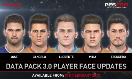 Pro Evolution Soccer 2017: Data Pack 3