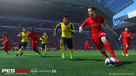 Pro Evolution Soccer 2017: Data Pack 3 - Release