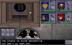 Eye of the Beholder II: The Legend of Darkmoon: Screen zum Spiel.