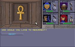 Eye of the Beholder II: The Legend of Darkmoon: Screen zum Spiel.