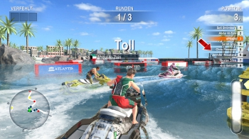 Aqua Moto Racing Utopia: Screenshots zum Artikel