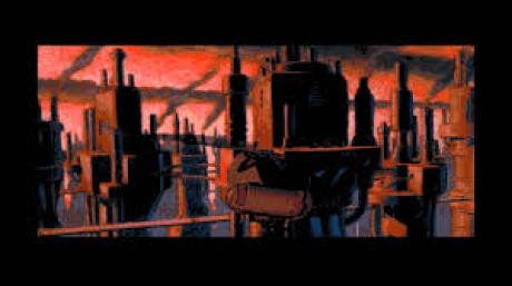 Beneath a Steel Sky: Screen zum Spiel Beneath a Steel Sky.
