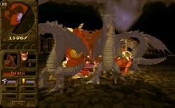 Dungeon Keeper: Screen zum Spiel.