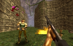 Turok: Dinosaur Hunter: Screenshot zum Titel.