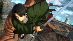 Attack on Titan: Wings of Freedom: Screenshot zum Titel.