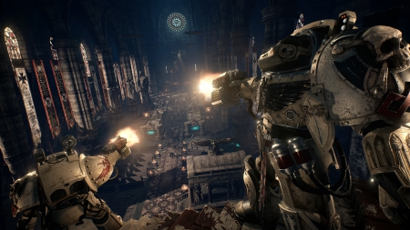 Space Hulk Deathwing: Screen zum Spiel.