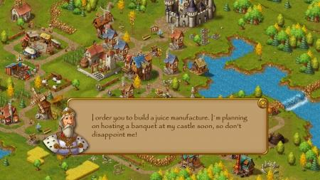 Townsmen: Screen zum Spiel.
