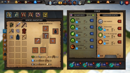Planar Conquest: Screenshot zum Titel.