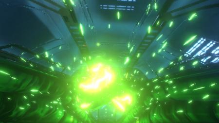 System Shock (2017): Screen zum Titel.