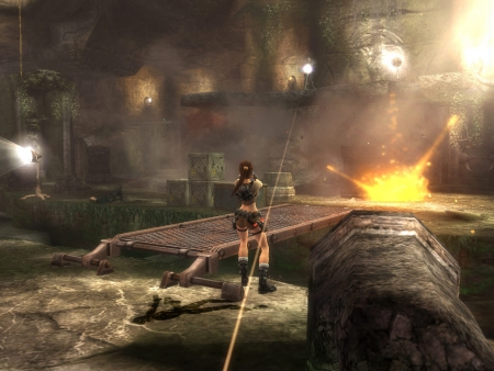 Tomb Raider Legend: Screenshot zum Titel.
