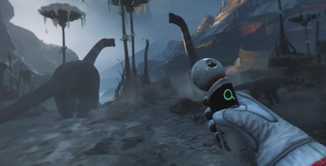 PS4 VR Test - Robinson: The Journey Auf einem Planeten gestrandet, der so aussieht wie unserer vor Millionen von Jahren, da muss sich der junge Robin beweisen. Wir haben ihn begleitet.