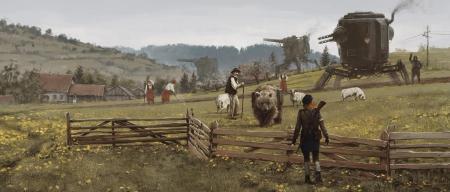 Iron Harvest: Artwork zum Spiel Iron Harvest.
