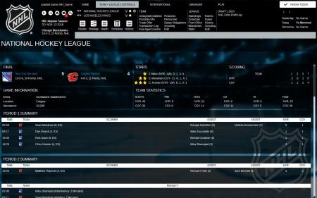 Franchise Hockey Manager 3: Screenshot zum Titel.