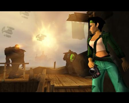 Beyond Good and Evil: Screenshot zum Titel.