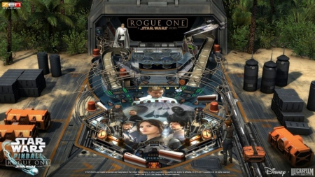 Pinball FX2: Star Wars: Rogue One Tisch