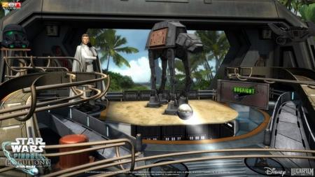 Pinball FX2: Star Wars: Rogue One Tisch