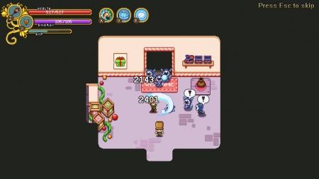 Secrets of Grindea: Screenshot zum Titel.